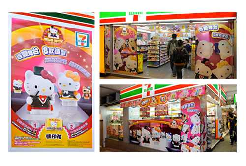 7-11 hello kitty on stage promotion