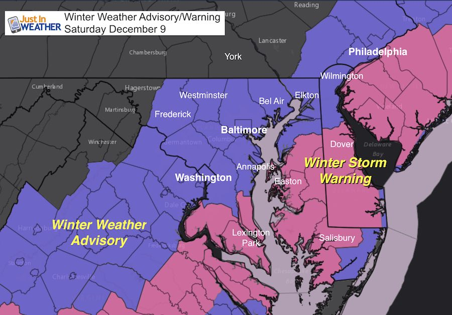 Winter Storm Warning Over Achieving Snow In