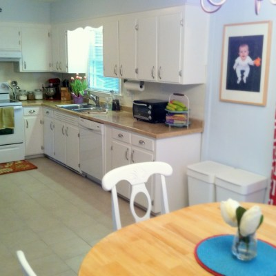 Our Budget Kitchen Makeover