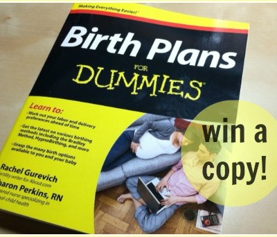 My top takeaways from Birth Plans for Dummies (win!)