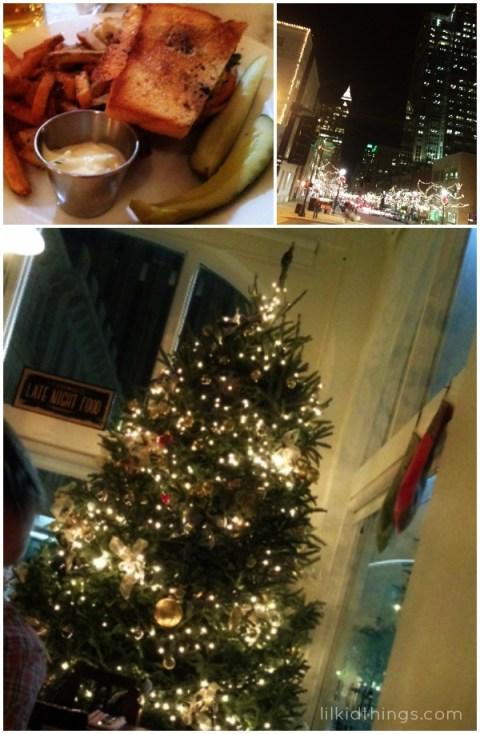 holidays, christmas cheer, raleigh christmas, updyke christmas weekend, andrea updyke, lilkidthings