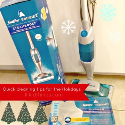 holiday cleaning tips, lilkidthings, swiffer, christmas, cleaning tips, andrea updyke