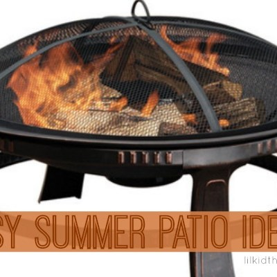 Easy Patio Makeover for Summer