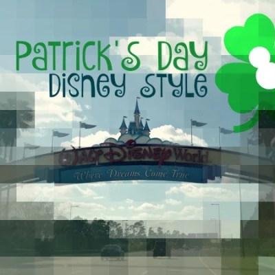 Tips for St. Patrick's Day at Walt Disney World Resort
