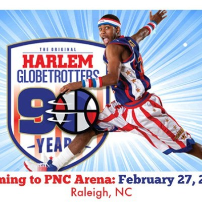 The Harlem Globetrotters are heading back to Raleigh. Enter to win 4 tickets!