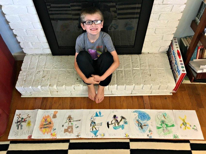Oscar Bioncle Drawings
