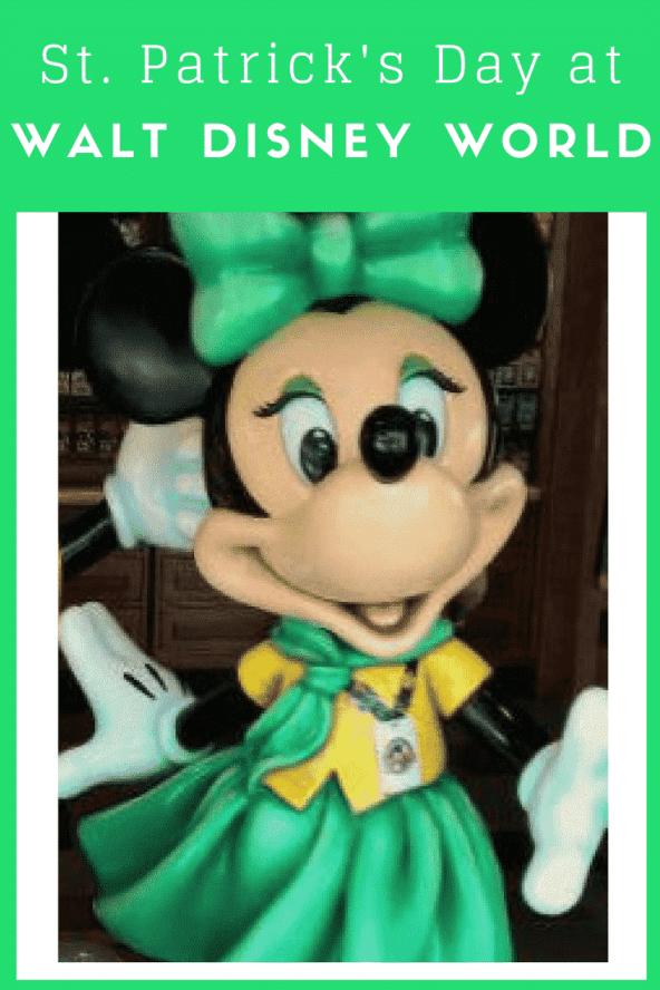 Walt Disney World on St. Patrick's Day is so fun! Here are my tips for finding and making your own lucky day the Disney way!