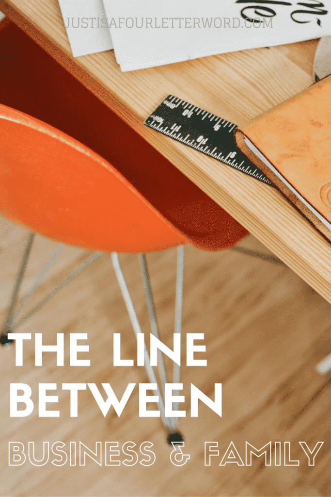 How to draw the line between business and family as a working parent. I'm sharing how I got started and what life is REALLY like around here.