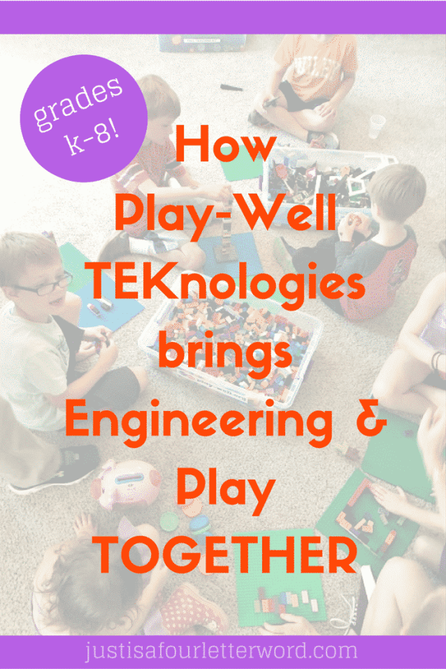 Play-Well TEKnologies parties and camps are great for learning engineering through play!