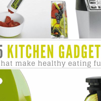 5 kitchen gadgets that make healthy eating fun!