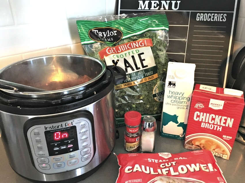 Sausage Kale Soup Ingredients