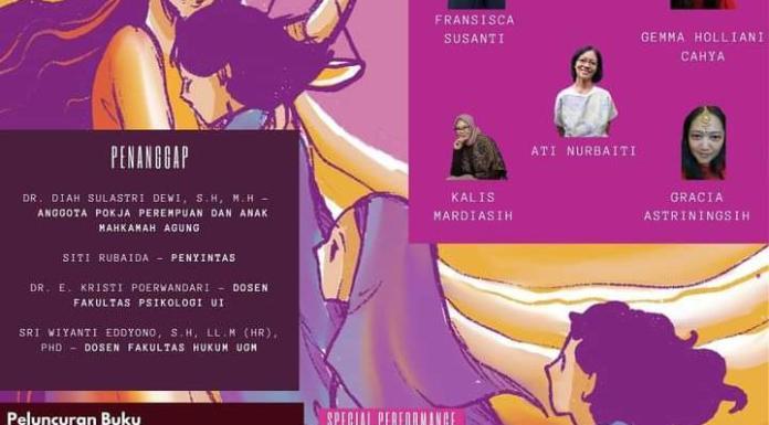Peluncuran Buku Ini Tanganku Ini Sayapku: Kisah Pendampingan Korban Kekerasan