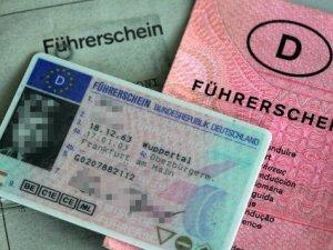 Führerschein beschlagnahmt ohne eine Rechtsgrundlage.