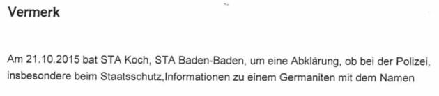 """Mal schauen ob der """"Staatsschutz"""" was weiss"""