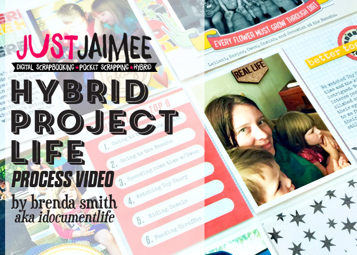 Project Life Hybrid Process Video using Storyteller Bryce