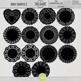 Digital Scrapbooking - Doily Shapes 2