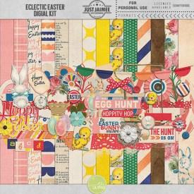 Digital Scrapbooking - Eclectic Easter Digital Kit