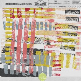 Digital Scrapbooking - Mixed Media Brushes 4