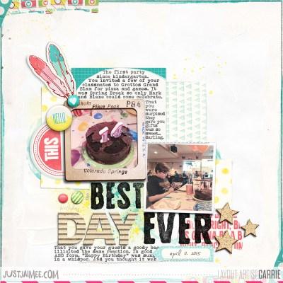 May Storyteller Collection: Skylar by Just Jaimee; Font: Albertsthal Typewriter, Pea Cynthia
