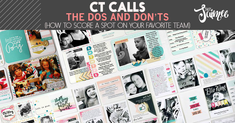 CT Calls :: The do's and don'ts – how to score a spot on your favorite team