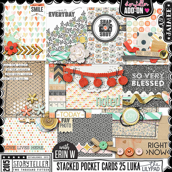 Storyteller Luka Ready-To-Go Stacked Pocket Cards vol 25