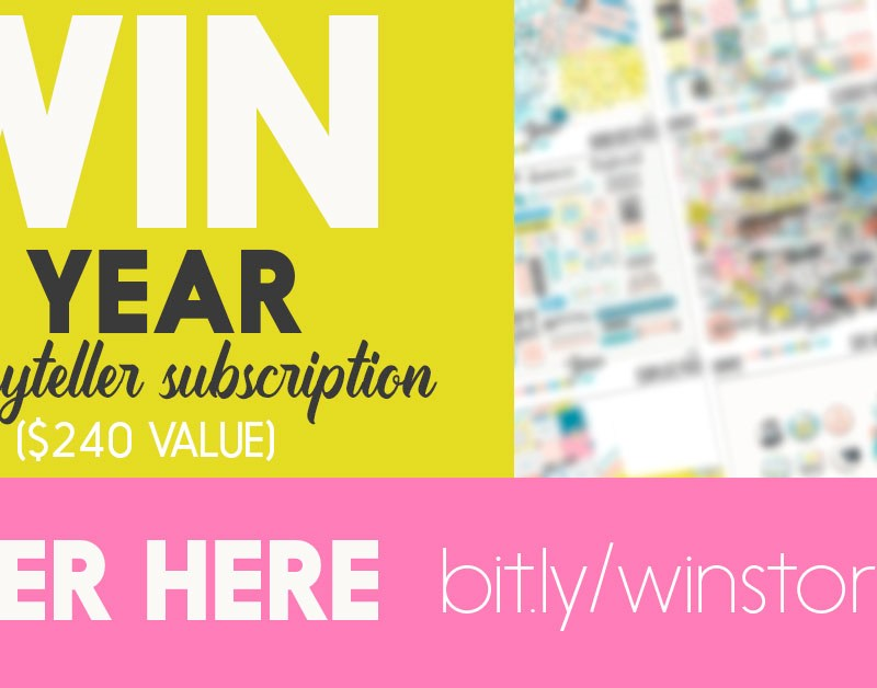 10 Days of Freebies + WIN 1 Year VIP Storyteller Subscription Giveaway