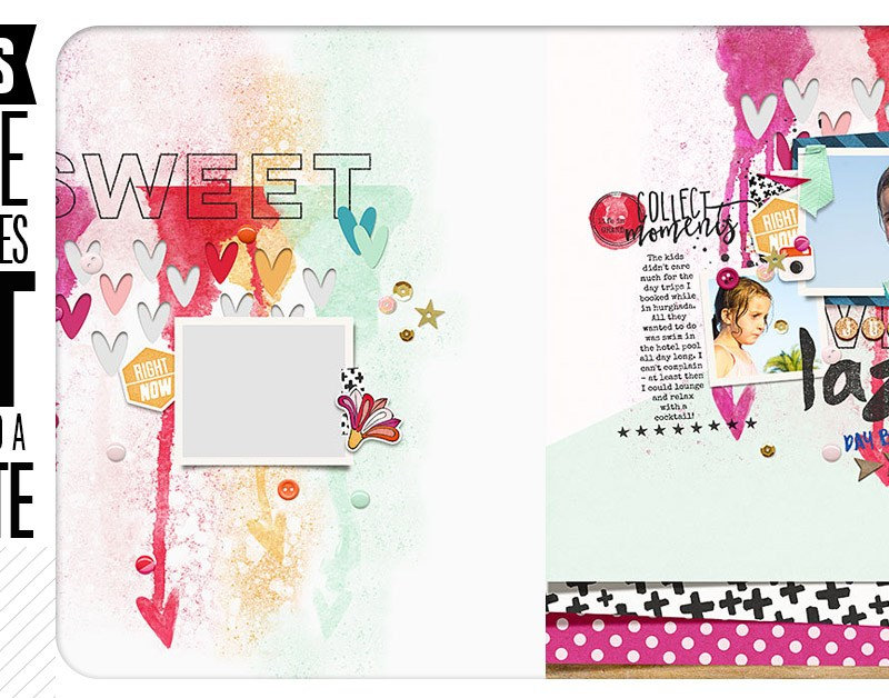 Digital Scrapbooking Tutorial – 10 Ways to make your templates NOT look like templates!