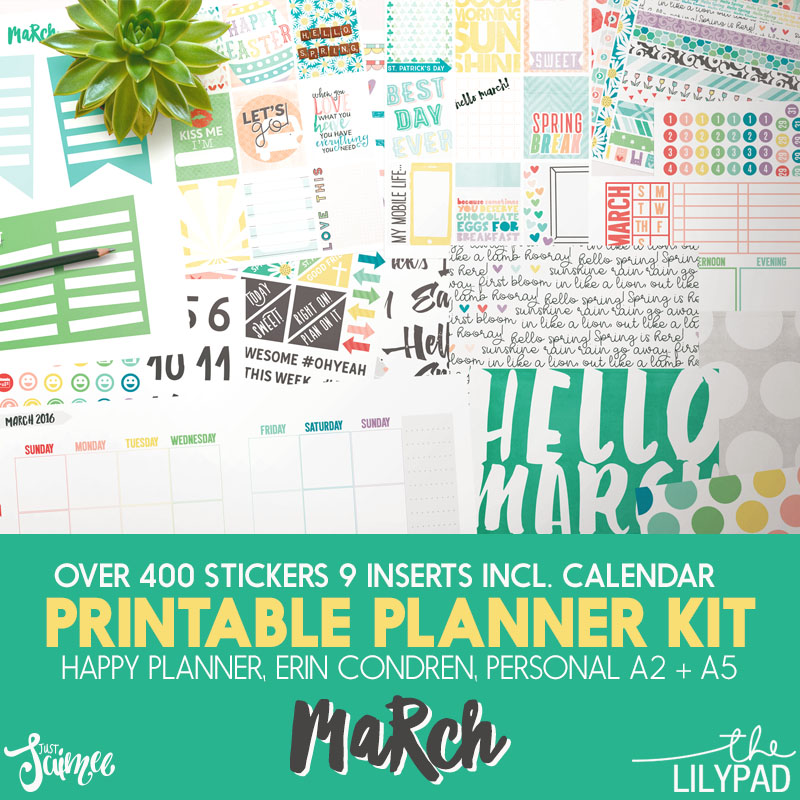 March Story Planner Kit