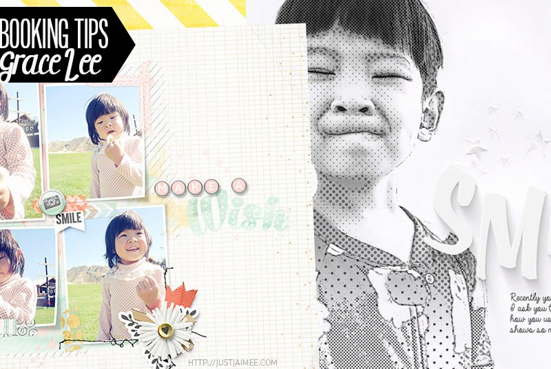 5 Simple Digital Scrapbooking Tips with Grace!