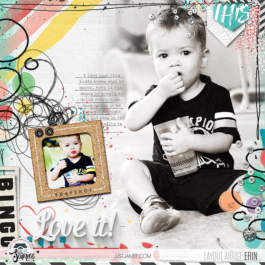 Scrapbooking tip to loving your layouts