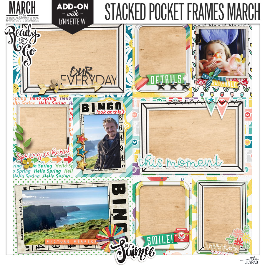 Stacked Pocket Cards & Frames Preview 2