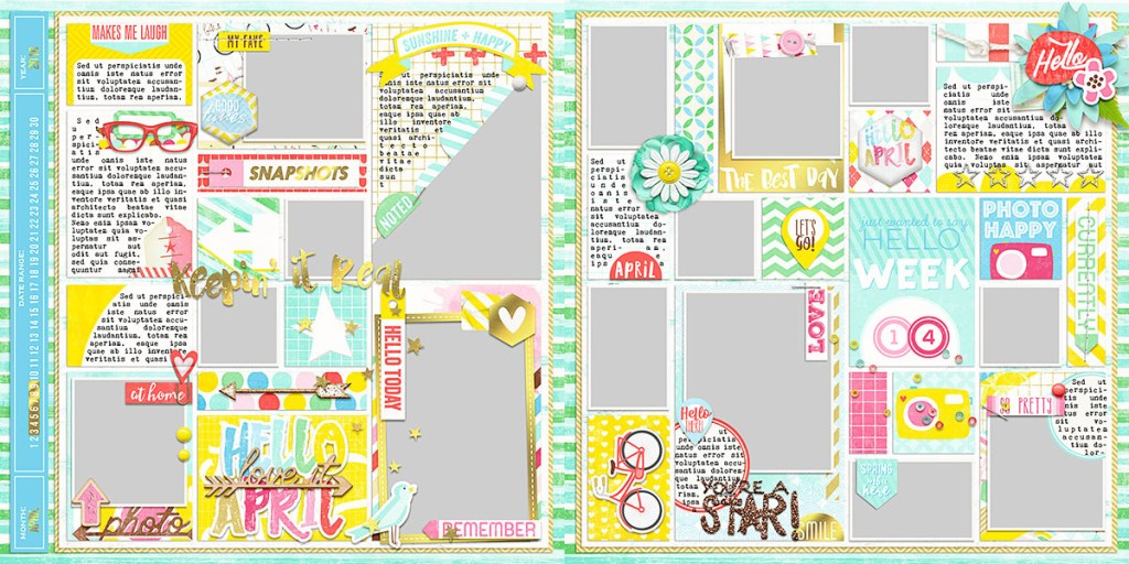 Ready To Go Pocket Page Templates 1