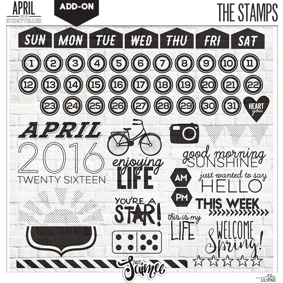 Stamps April
