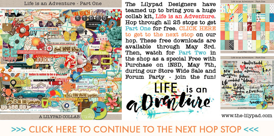 Life is an Adventure Blog Hop