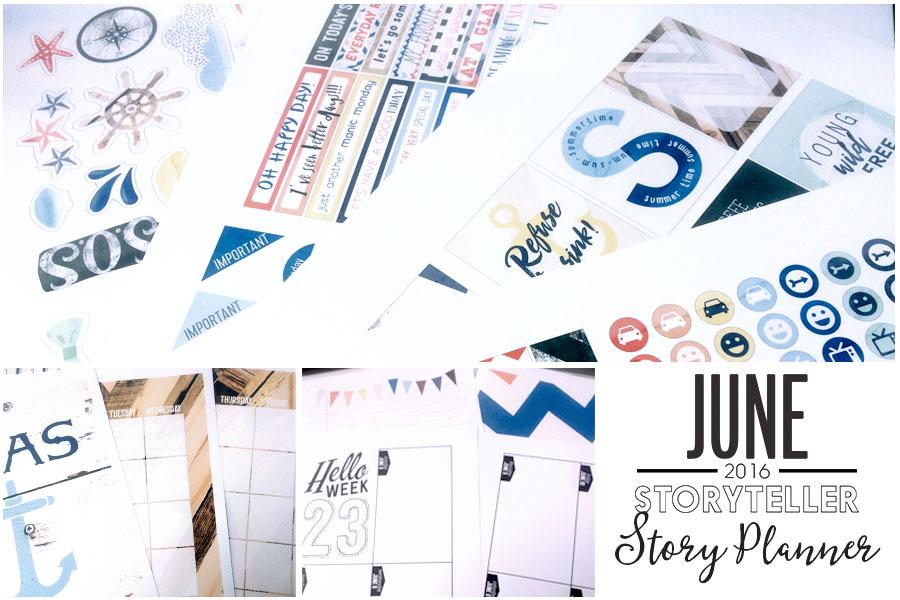 Planner Kit June details