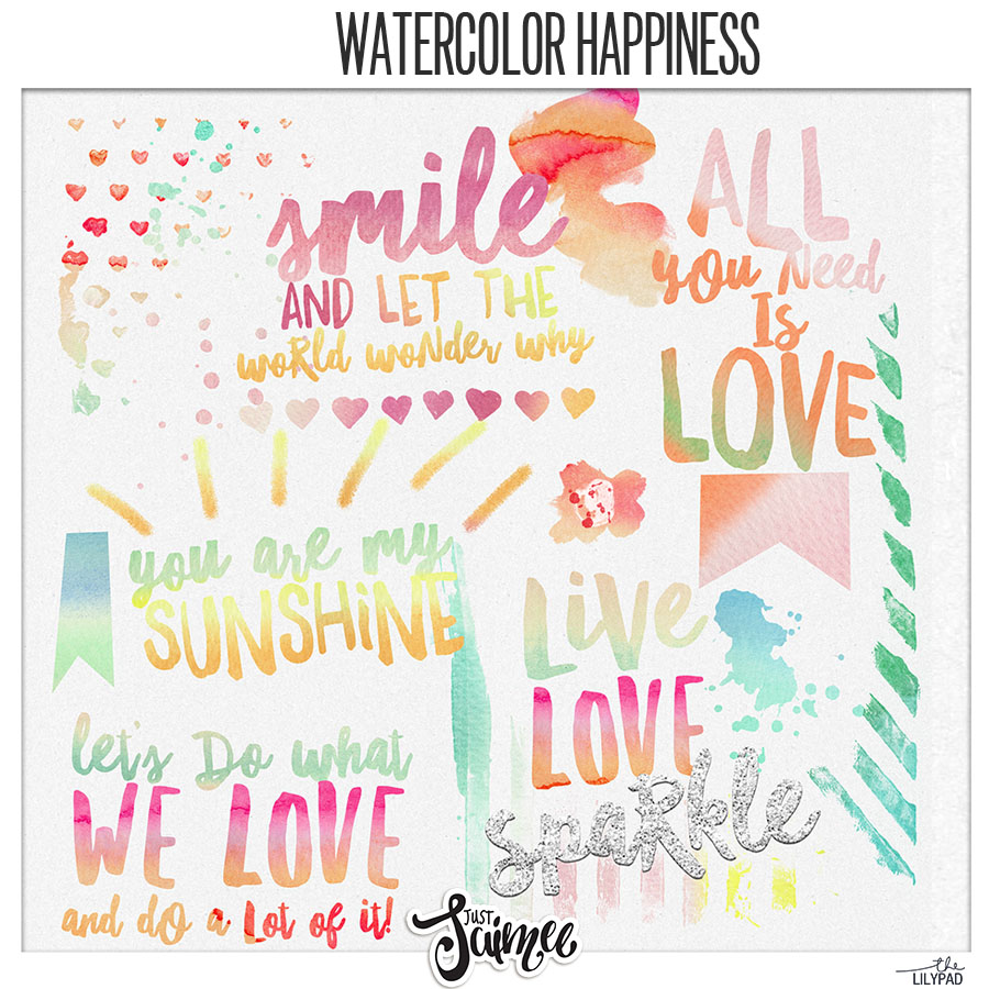Watercolor Happiness
