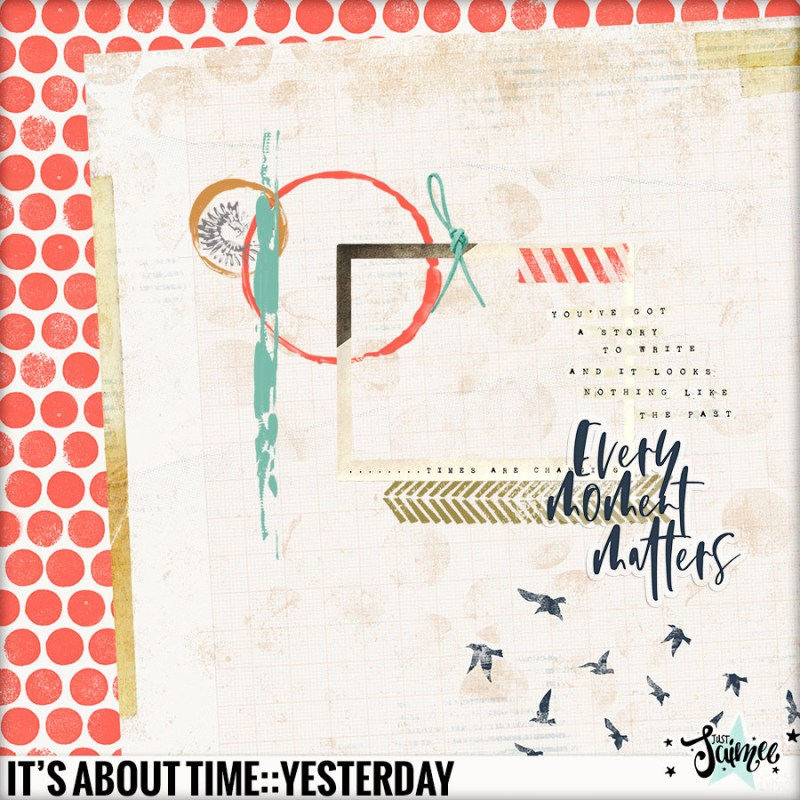It's About Time::Yesterday – The Lilypad Blog Hop Stop Here!