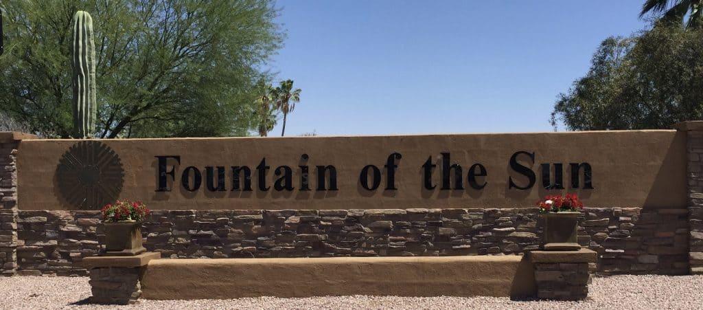 Fountain Of The Sun 2010 Hoa Fees Arizona Retirement