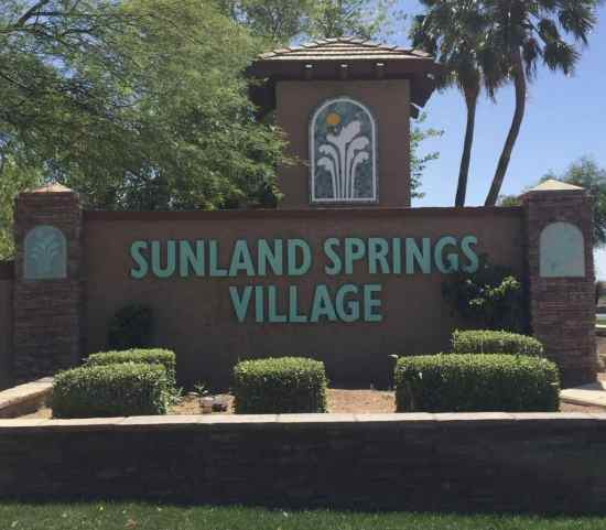 Welcome to Sunland Springs Village