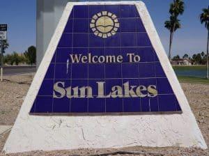 Sun Lakes AZ Condo Home Search