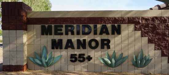 Welcome to Meridian Manor a 55 plus community