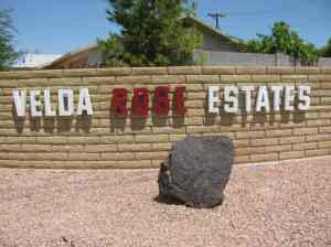 Welcome to Velda Rose Estates a 55 plus community