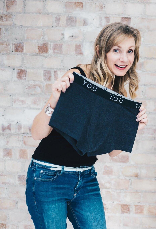 Sarah Jordan, Founder and CEO of Y.O.U underwear, sustainable underwear brand