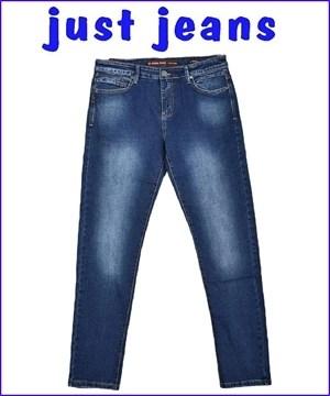 παντελονι τζιν ελαστικο ανδρικο μπλε blue jean denim μοντερνο ξεβαμα ισια γραμμη με φερμουαρ και μεγαλα μεγεθη 35