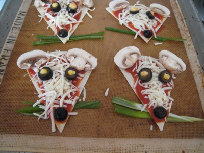 Image result for mouse pizza
