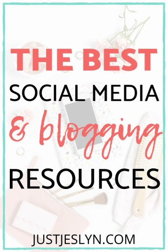the best social media and blogging resources