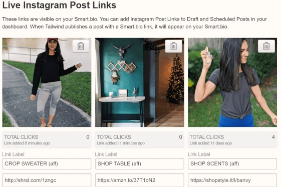 How to Drive Traffic From Instagram for FREE With Tailwind Smart.bio! | justjeslyn.com
