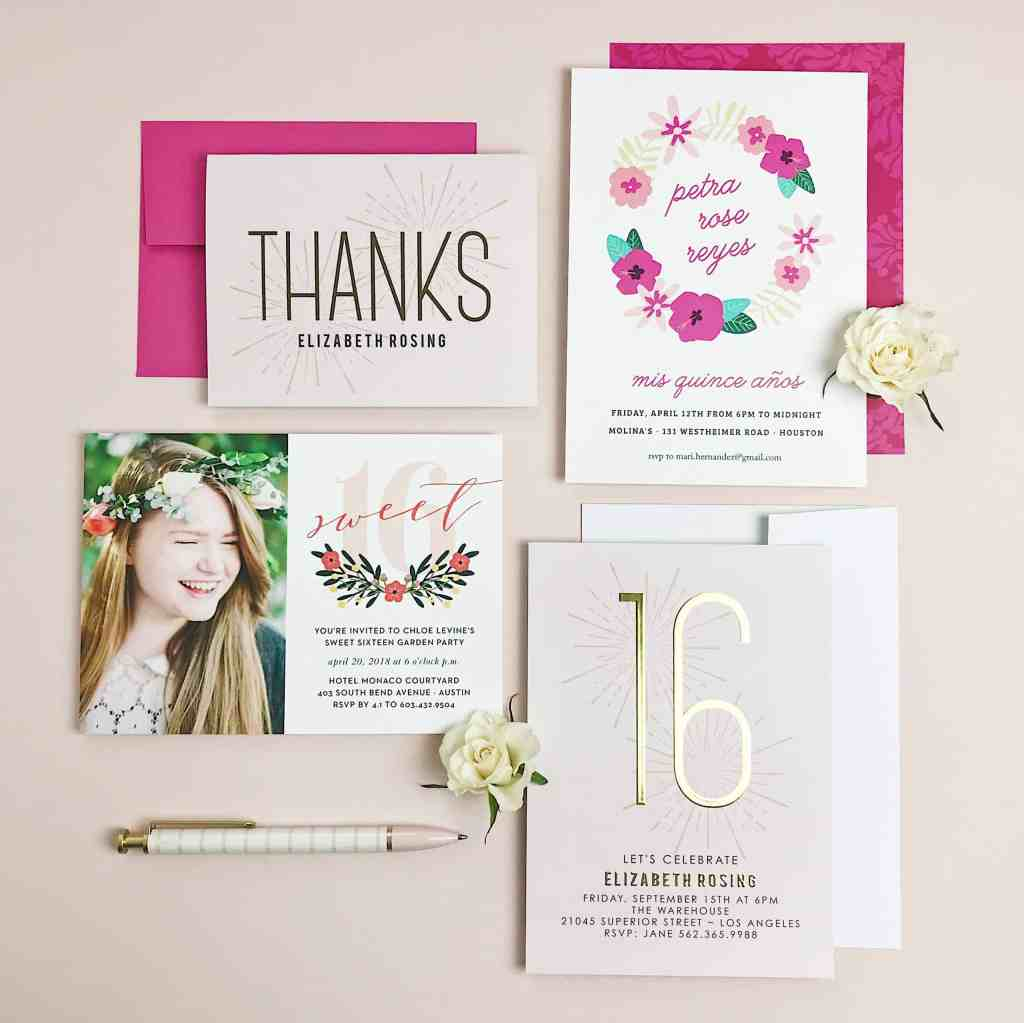 The Best Birthday Invitations & Where to Find Them! | justjeslyn.com