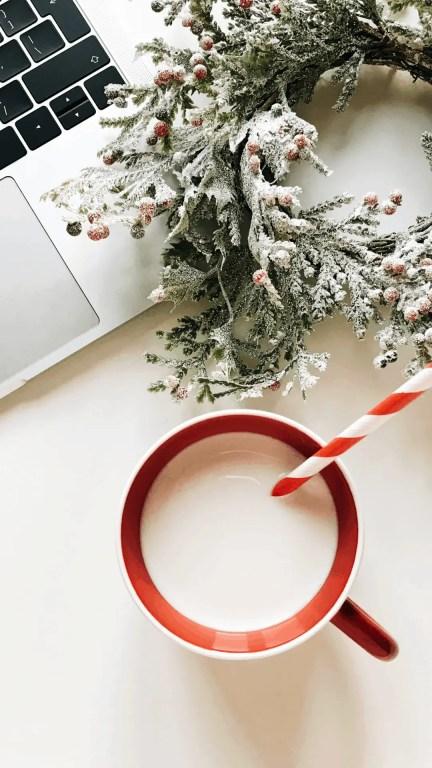 Christmas Milk Mug