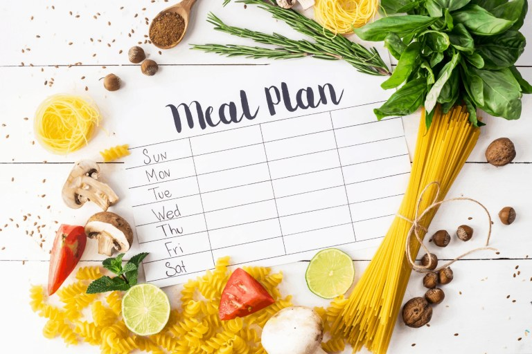 7 Simple Habits of Organized People We All Need | Meal Plan | Just Jes Lyn